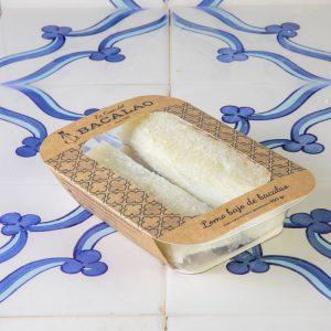 Lomo bajo de bacalao (envasado)